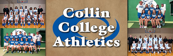 Collin College Athletics Banner