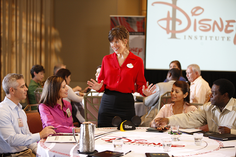 Disney's Approach to Quality Service Classroom Image