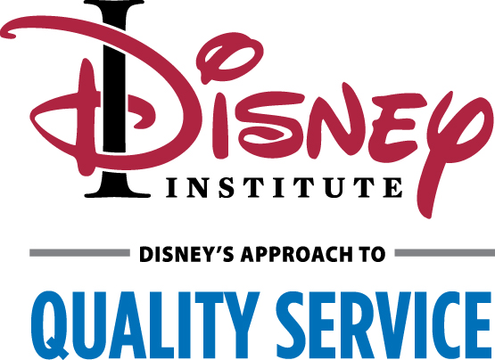 Disney's Approach to Quality Service Logo