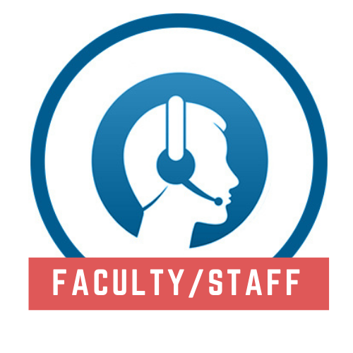 Faculty and staff tech support logo