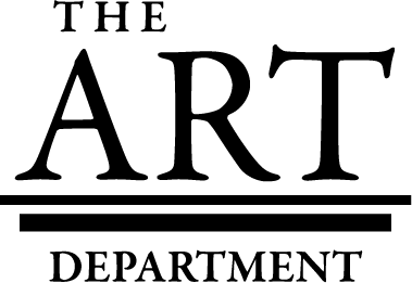 Art Department Logo BW