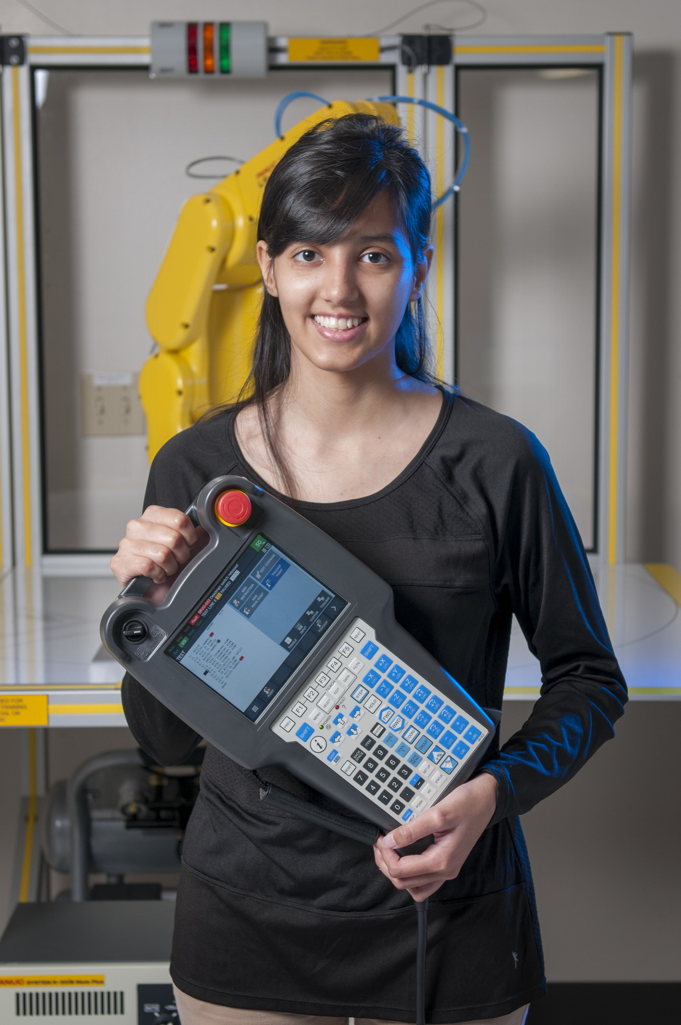 Woman engineering student