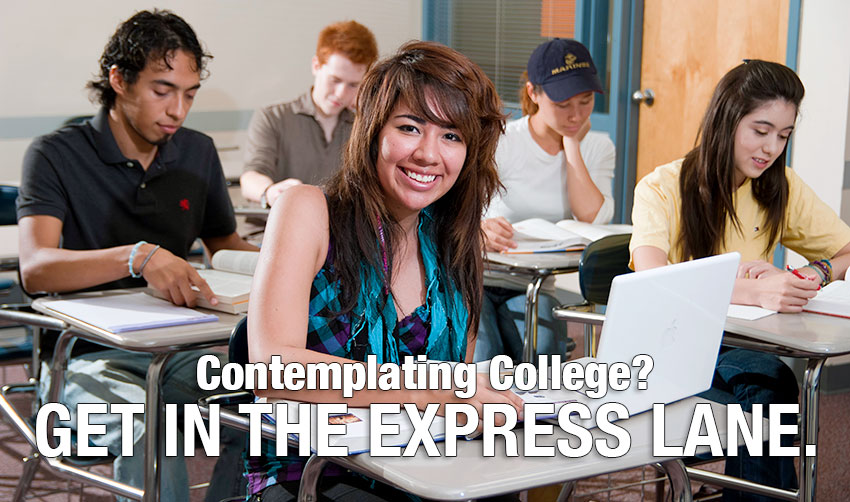 Contemplating College? Get In The Express Lane With College Express