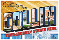 Collin College New Student Orientation 2014 Logo