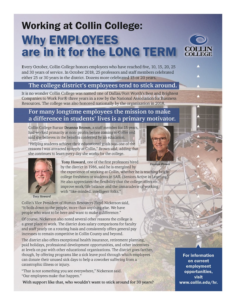 Why Employees are in it for the Long Term