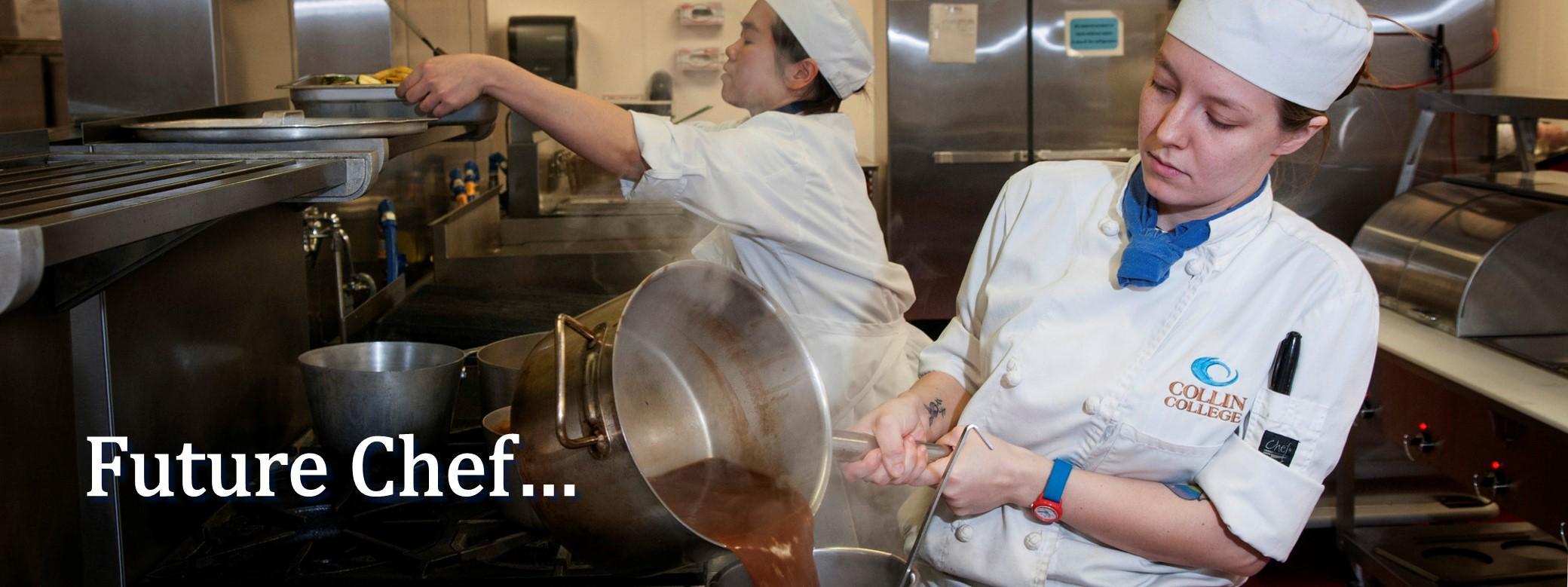 Future chef . . .