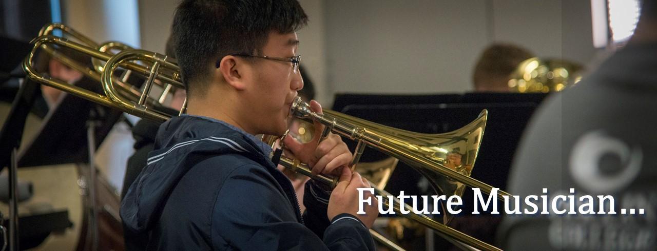 Future musician...