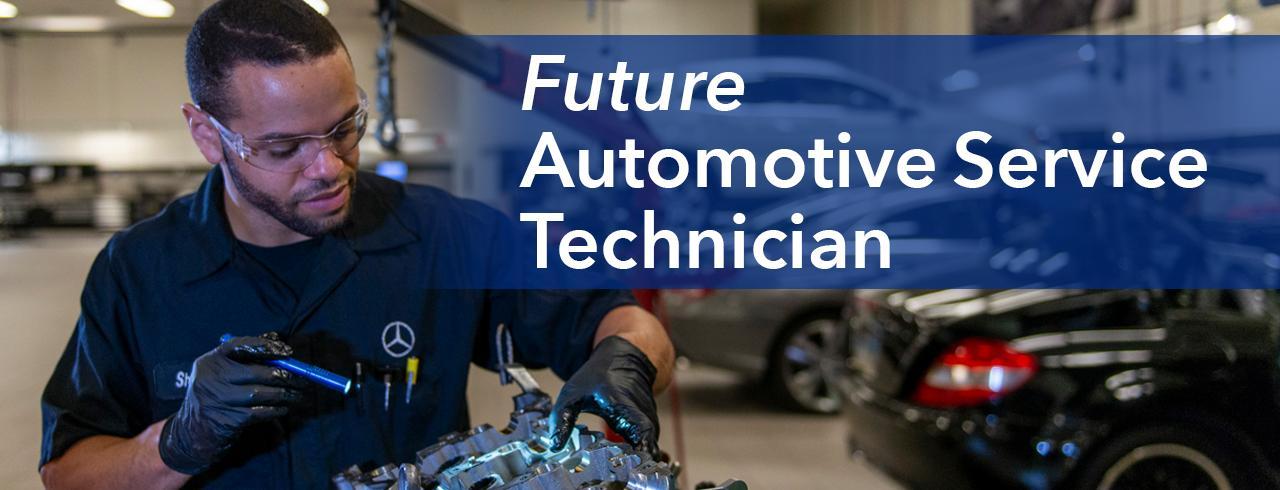 Future automotive service technician