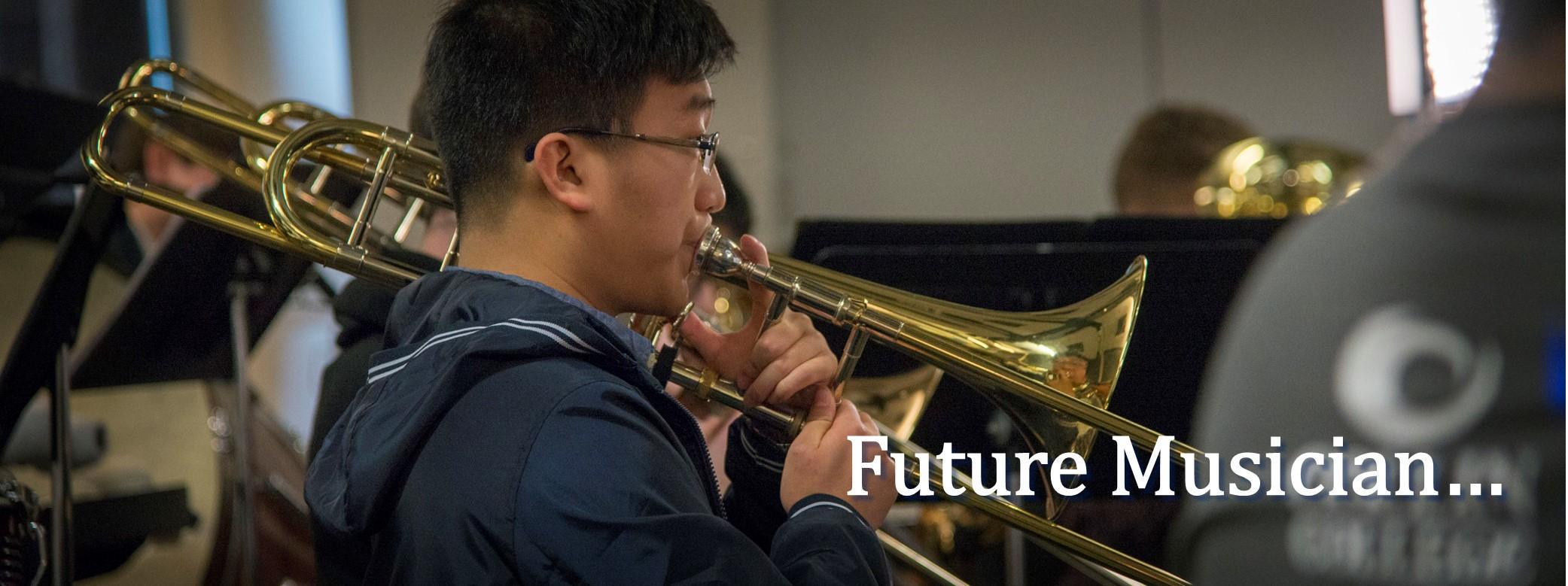 Future musician . . .