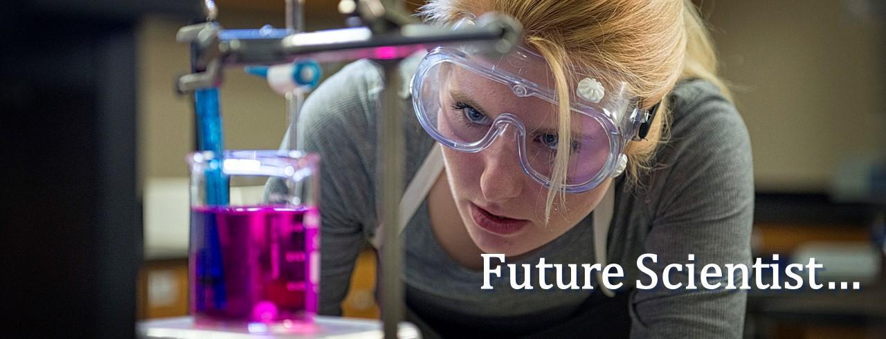 Future scientist...