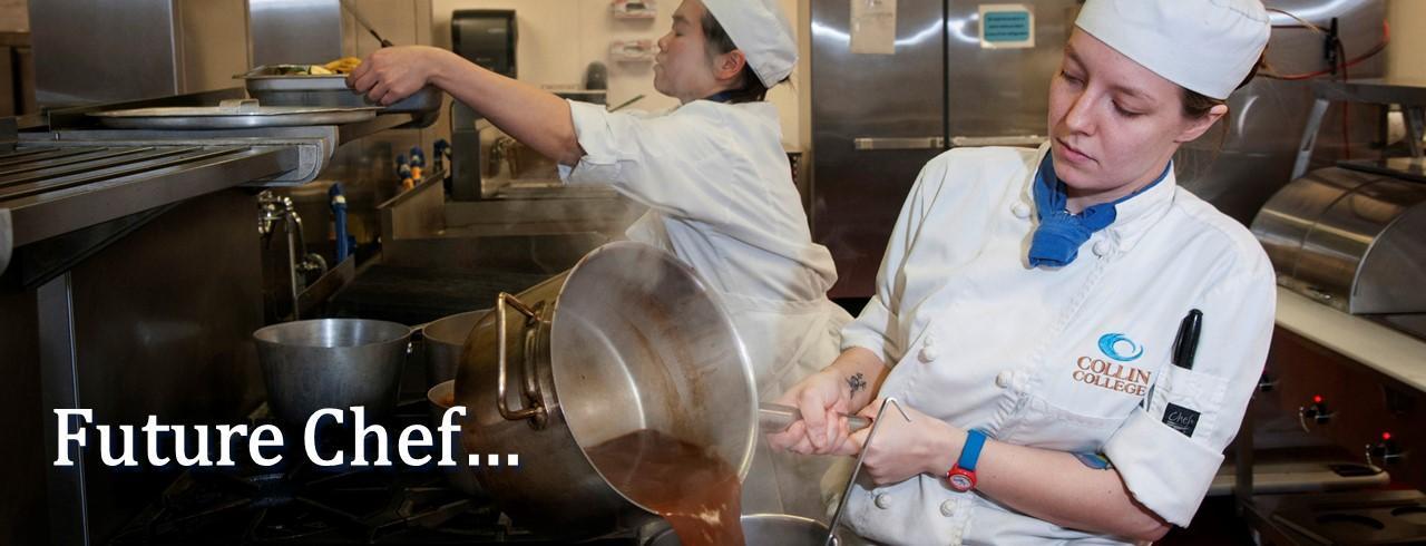 Future chef...
