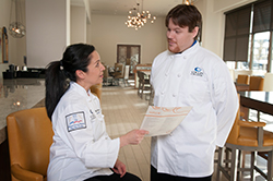 Students attending Collin College's Institute of Culinary and Hospitality Education get a well-rounded introduction to all aspects of the hospitality industry.