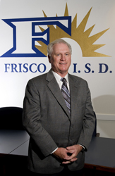Dr. Rick Reedy, superintendent of Frisco ISD