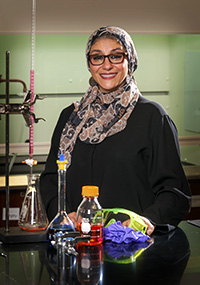 Collin College Professor of Chemistry Dr. Amina K. El-Ashmawy was named a 2015 Piper Professor, one of 10 in the state of Texas.