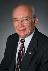 Tino Trujillo, founding member of the college's Board of Trustees