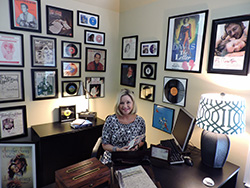Dr. Dallie Clark, a humanities professor at Collin College, has collected many pieces of art inspired by handwritten letters.