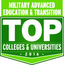Military Advanced Education & Transition Top School Award