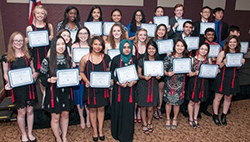 Plano ISD Health Sciences Academy First Pinning Ceremony