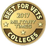 2017 Best for Vets College Award from Military Times