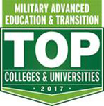 2017 Military Advanced Education & Transistion Top College & University Award