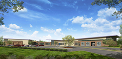 Rendering of Future Public Safety Training Center