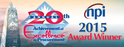 NPI AEP Award Winner Graphic