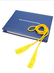 Image of a Collin College Diploma