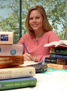 Collin College Student Shannon Ainsworth