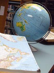 globe book photo