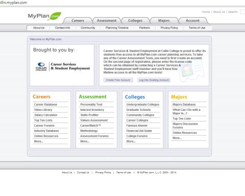 myplan career assessment