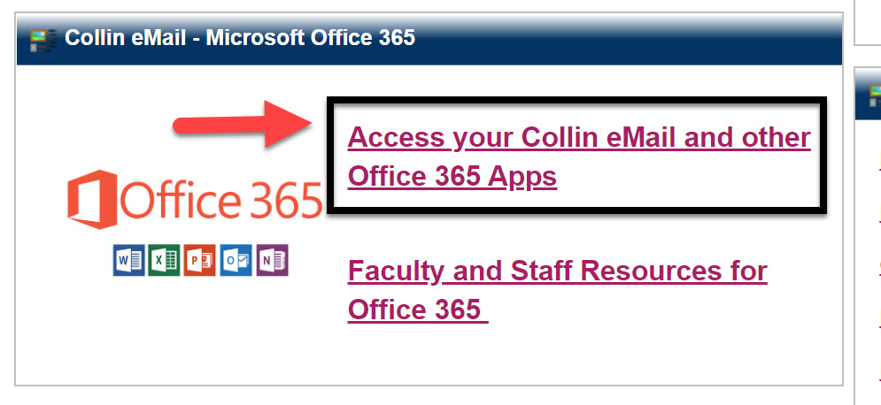 Cougarweb Office365 link