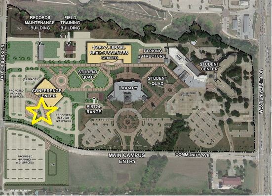 collin spring creek campus map New Student Orientation Collin College collin spring creek campus map