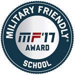 Military Friendly 2017 Badge