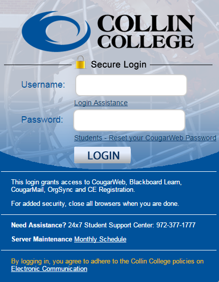 Library Electronic Resources - Collin College
