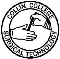 surgical technology collin college Scrub Women st logo